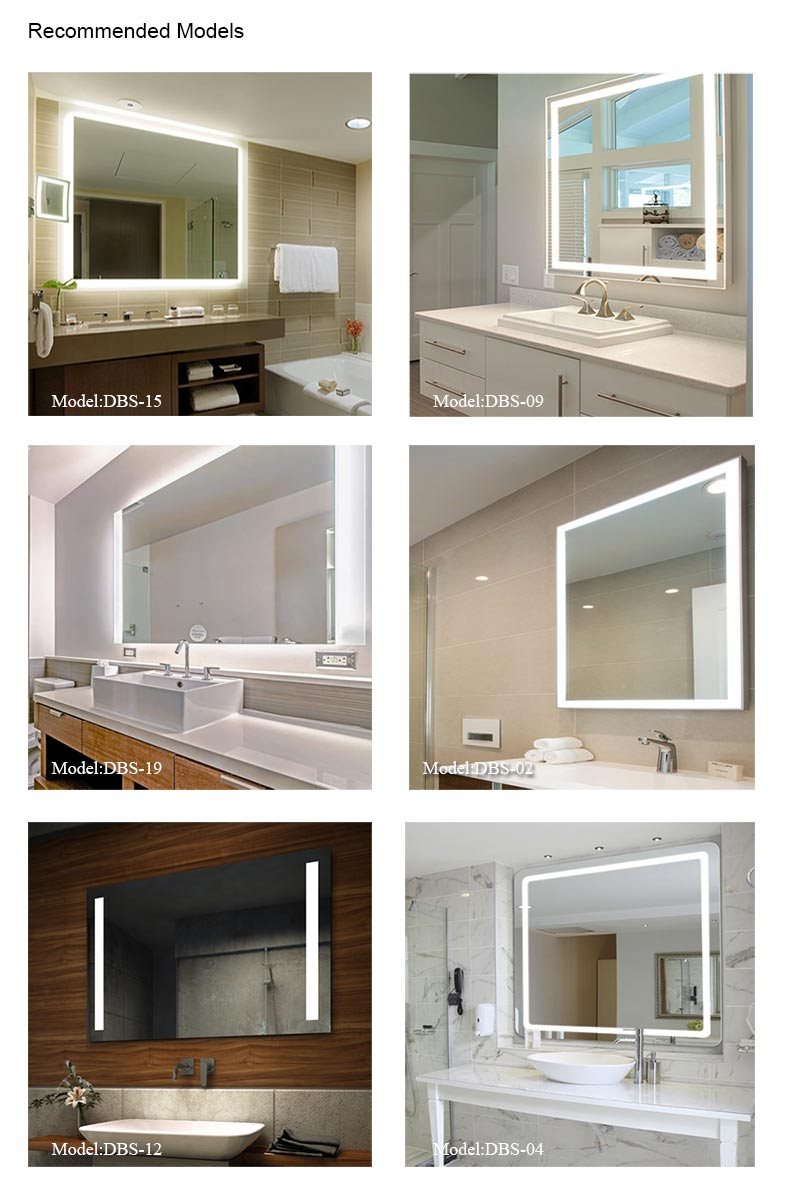 Westin Hotel-bathroom-mirror-led-backlit-mirror-with-light-manufacturer-suppliers-china