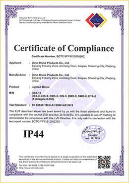 IP44 LED-Lighted-Illuminated-Mirror-CE-certificated