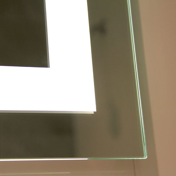 Modern hotel led lighted bathroom mirror,china backlit hotel bathroom mirror suppliers,LED illuminated mirror cabinet factory,lighted wall mirror wholesaler  2