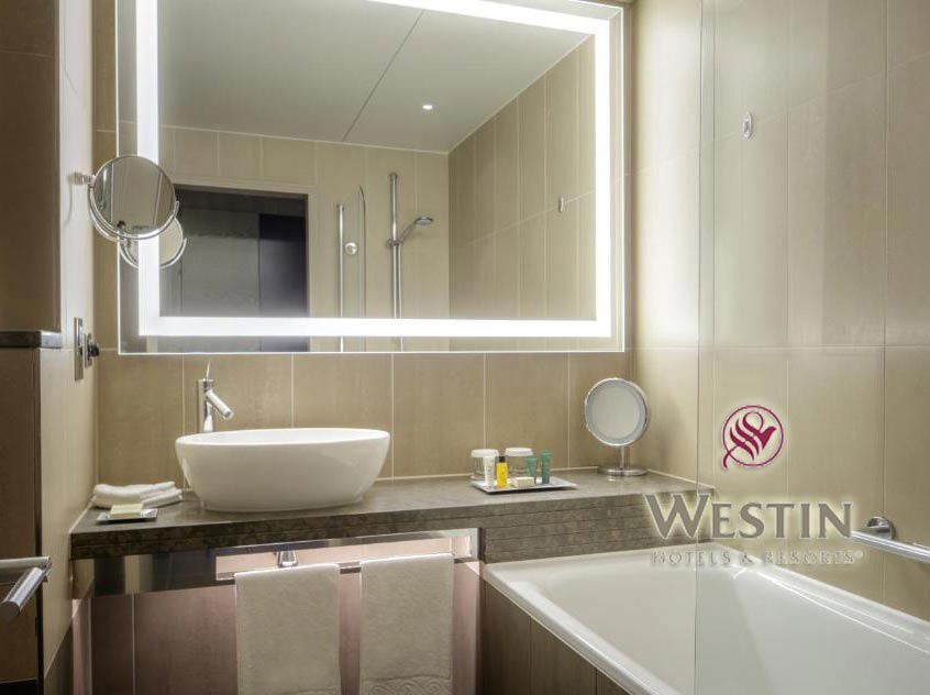Westin Hotel Bathroom Mirror With Led Light China Led