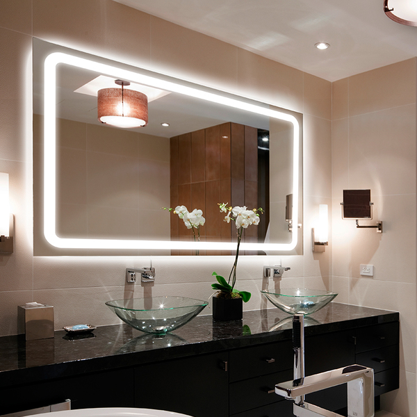 bathroom led lighted mirror manufacturer supplier factory china 2